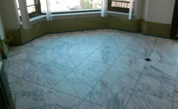 Marble Floor, Looking Dull and Dingy